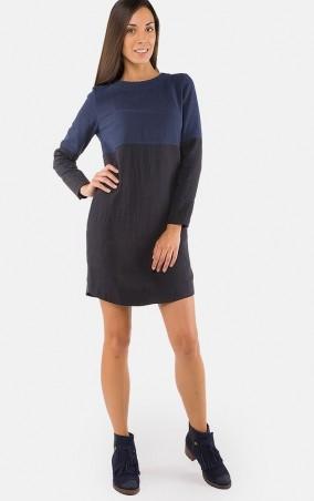 MR520 Women: Платье прямого кроя MR 229 2243 1016 Dark Blue/Black - главное фото