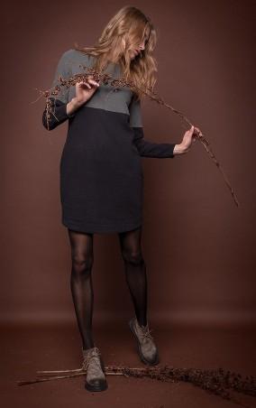 MR520 Women: Платье прямого кроя MR 229 2243 1016 Green/Black - главное фото