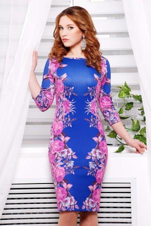 Glem: Платье Фиолетовые розы №2  Лоя-1Ф д/р - главное фото