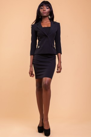 Jadone Fashion: Костюм (с юбкой) Терри_1 (М4) - главное фото