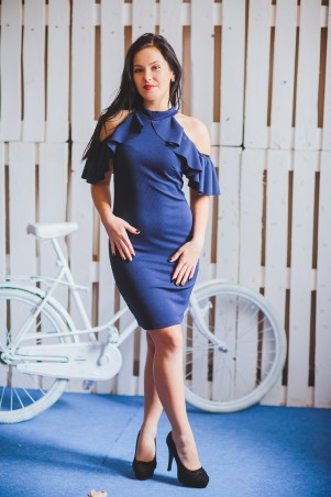 BIBI-Brand: Платье Мисти т.синий - главное фото