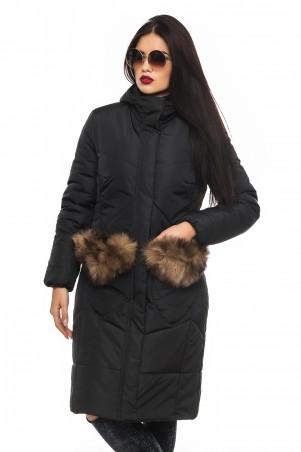 Кариант: Куртка зима Эля-черный - главное фото