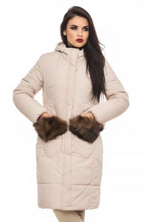 Кариант: Куртка зима Эля-бежевый - главное фото
