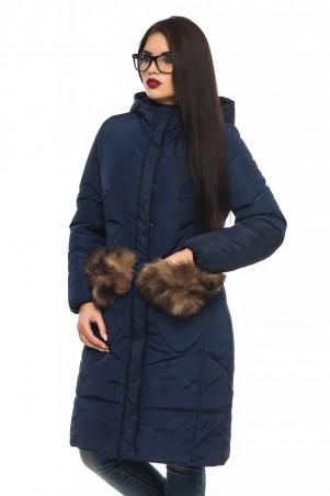 Кариант: Куртка зима Эля-синий - главное фото