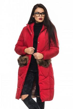 Кариант: Куртка зима Эля-красный - главное фото