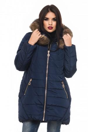 Кариант: Куртка зима Барбара-синий - главное фото