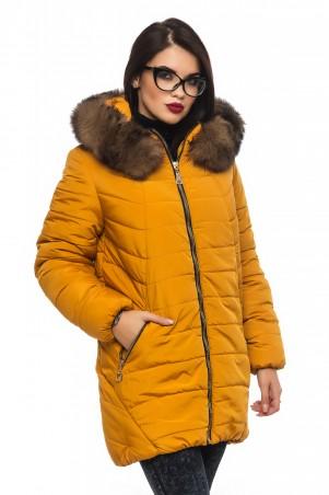 Кариант: Куртка зима Барбара-горчичный - главное фото
