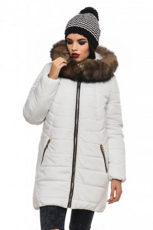 Кариант: Куртка зима Барбара-белый - главное фото