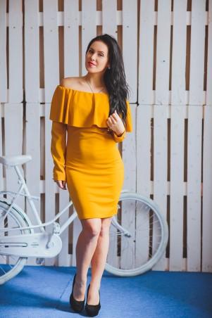 BIBI-Brand: Платье Памела жёлтый - главное фото