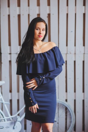 BIBI-Brand: Платье Памела Т.синий - главное фото