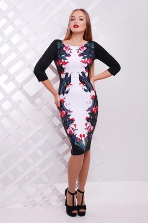 Glem: Платье Цветы-птицы  Лоя-3Ф д/р - главное фото