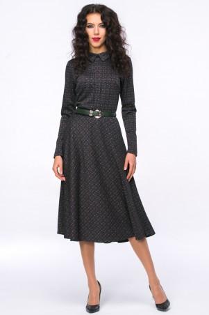 Jet: Платье АДЕЛИНА квадраты зеленые 1106-5575 - главное фото