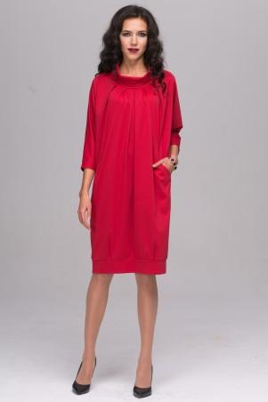 Jet. Платье СЕЛИНА джерси красный. Артикул: 1145-5470