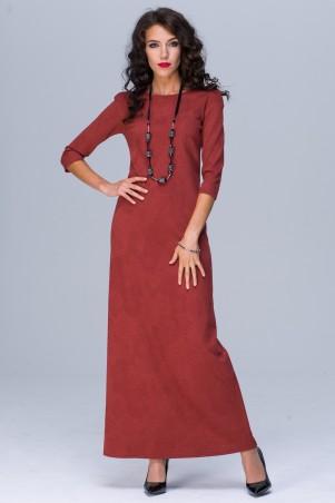 Jet. Платье  ЭММА МАХI Роза терракот. Артикул: 1133-5464
