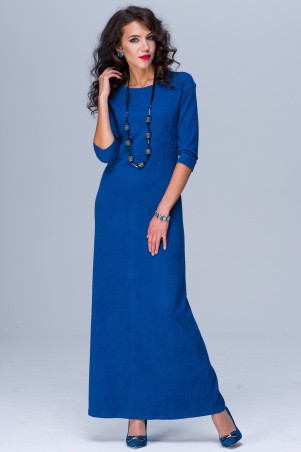 Jet. Платье  ЭММА МАХI Роза синяя. Артикул: 1133-5462