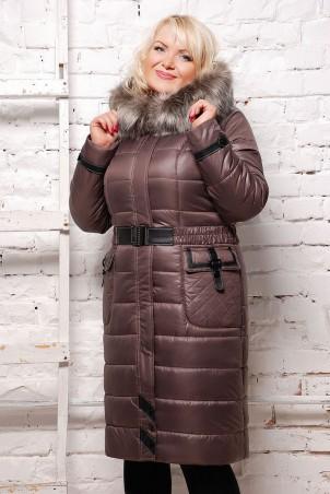 Vicco: Куртка зимняя EVELINA шоколад 1093 - главное фото