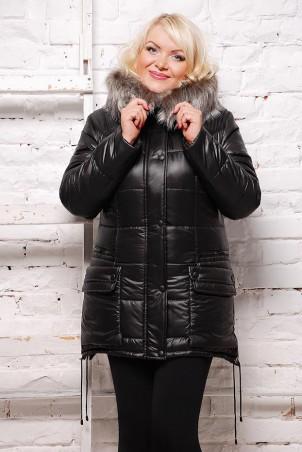 Vicco: Куртка зимняя SOFI (цвет Черный) 1527 - главное фото