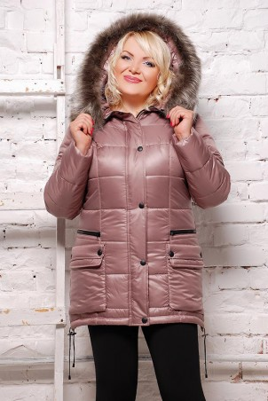 Vicco: Куртка зимняя SOFI (цвет Бежевый) 1554 - главное фото