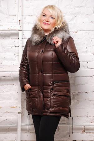 Vicco: Куртка зимняя SOFI (цвет Шоколад) 1561 - главное фото