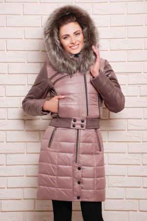 Vicco: Куртка зимняя AMELIA шоколад 1707 - главное фото