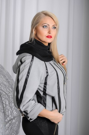 "Vicco: Куртка ""MELANY"" (св.серый) 2170 - главное фото"