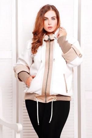 """Vicco: Куртка Куртка """"Veronika"""" (цвет белый/молочный) 2314 - главное фото"""