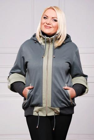 "Vicco: Куртка Куртка ""Veronika"" (цвет т.оливка) 2426 - главное фото"