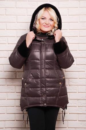 Vicco: Куртка зимняя SHERI (цвет Кофейный) 3109 - главное фото