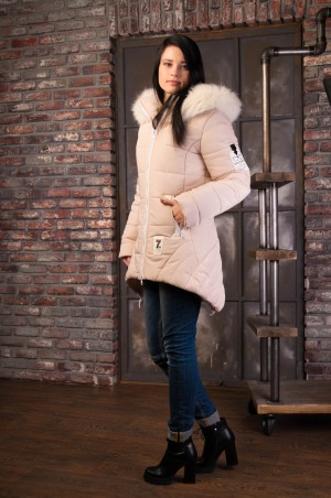 Vicco: Куртка зимняя ANGELIKA (светлый беж) 4084 - главное фото