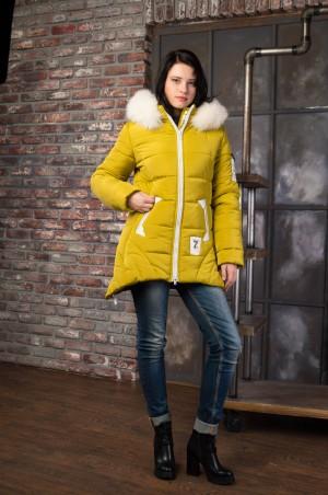 Vicco: Куртка зимняя ANGELIKA (фисташка) 4105 - главное фото
