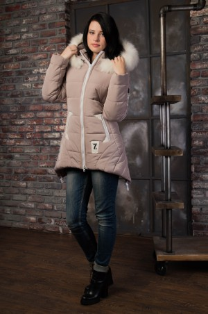Vicco: Куртка зимняя ANGELIKA (беж) 4123 - главное фото
