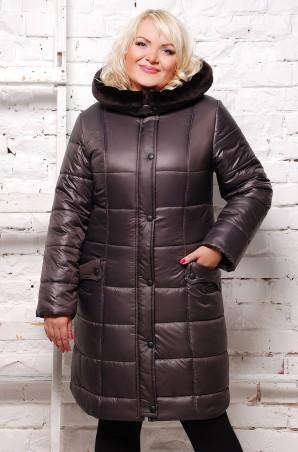 Vicco: Куртка зимняя BABOCHKA NEW (цвет Шоколад) 1170 - главное фото
