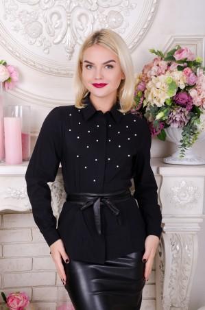 Tempo: Рубашка Лиза черный - главное фото