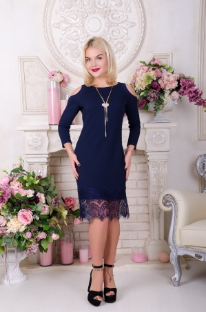 Tempo: Платье Бьянка синий - главное фото