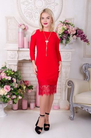 Tempo: Платье Бьянка красный - главное фото