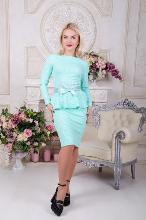 Tempo: Платье Алина мята - главное фото