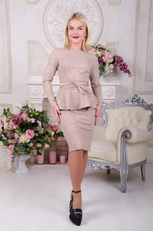 Tempo: Платье Алина капучино - главное фото