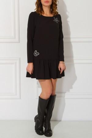 Garne: Платье Miu Miu с нашивками 3030490 - главное фото