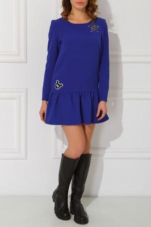 Garne: Платье Miu Miu с нашивками 3030491 - главное фото