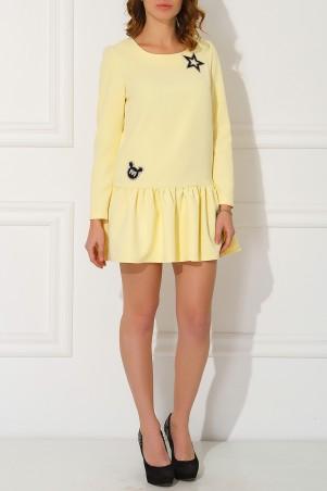 Garne: Платье Miu Miu с нашивками 3030492 - главное фото