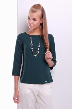 MarSe: Блуза 1620 темно-зеленый - главное фото