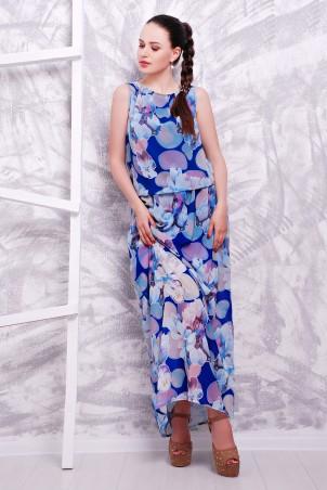 MarSe: Платье 1603 электрик цветы - главное фото
