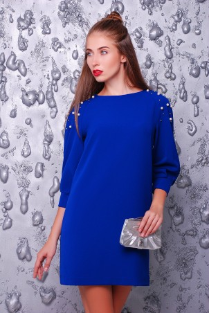 """TessDress: Платье """"Брук"""" blue 1412 - главное фото"""