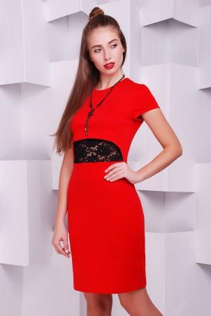 "TessDress: Платье ""Фиона"" red 1411 - главное фото"