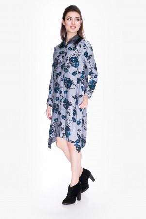 Cher Nika: Платье-рубашка 7843 - главное фото