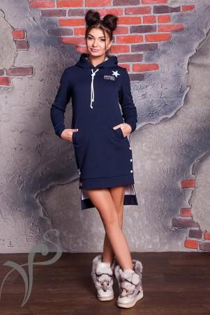 Vision FS: Зимнее теплое платье Fur-Fur 16528 - главное фото
