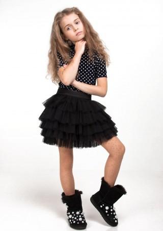 """Sofia Shelest: Юбка """"Ария"""" черная 140(р) 000257 - главное фото"""