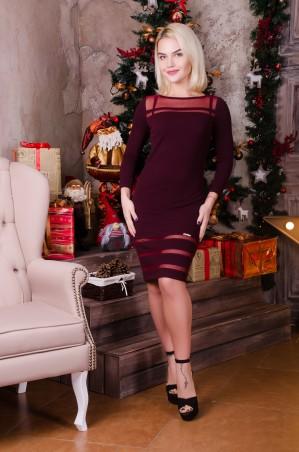 Tempo: Платье Селеста марсала - главное фото