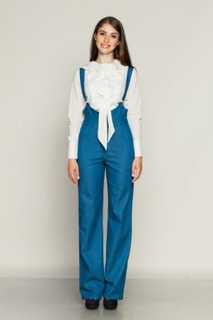 Marterina. Комбинезон из синего джинса. Артикул: K01K01J04