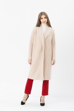 Marterina: Пальто бежевое K03C01P09 - главное фото